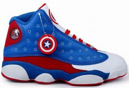 Cheap Air Jordan 13 Captain America